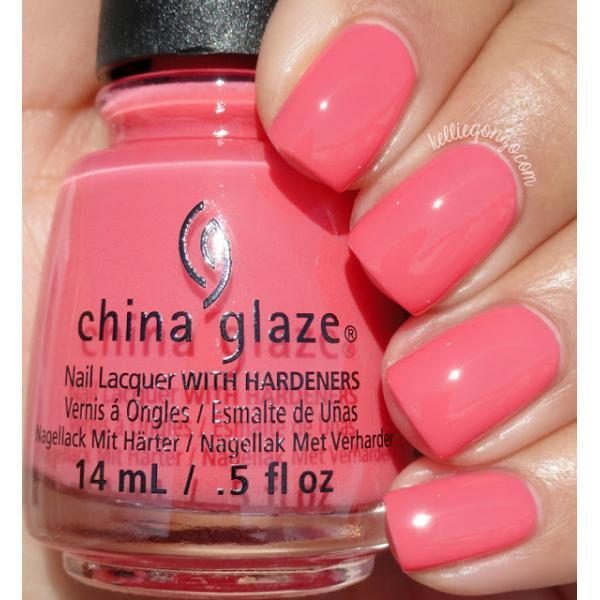 China Glaze About Layin' Out 1
