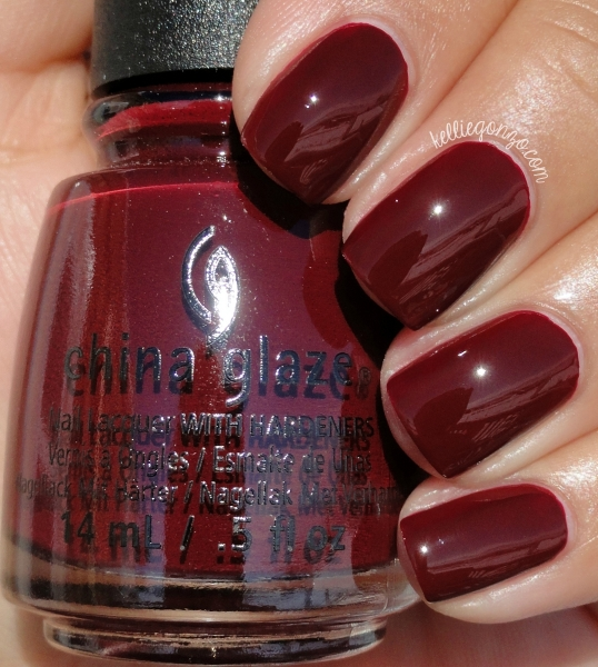 China Glaze Wine Down for What?
