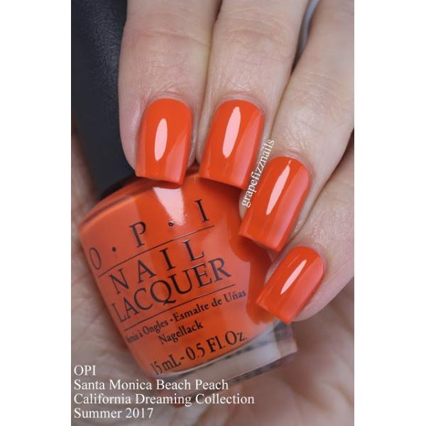 OPI Santa Monica Beach Peach