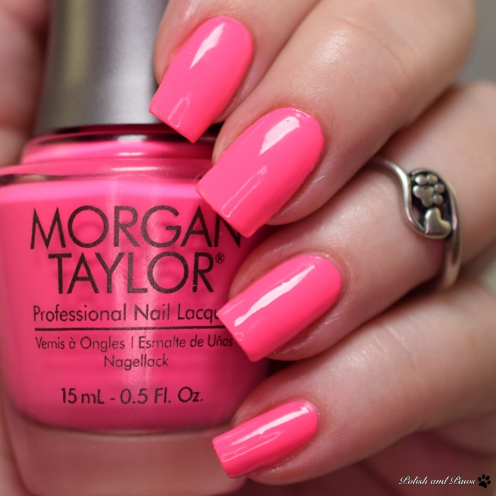 Morgan Taylor Pretty As a Pink-Ture