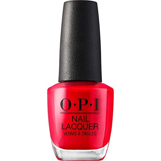 OPI Red My Fortune Cookie