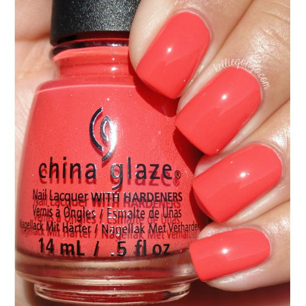 China Glaze Tis the Sea-Sun