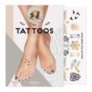 Moyou Tatuaj Leg Explorer Black